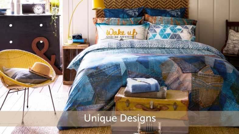 Offbeat Bedsheet Patterns for an Instant Room Makeover