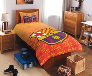 Sports themed bedsheets