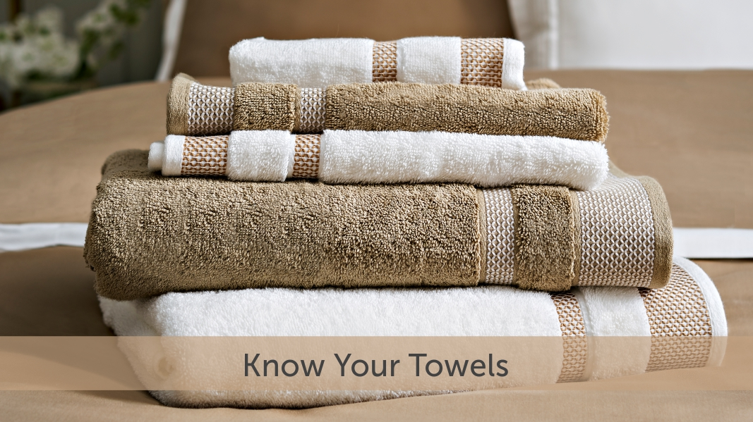 The Five Types of Towels You Should Know – Find Inspiration on Home  Furnishing Products – BLOG | Spaces