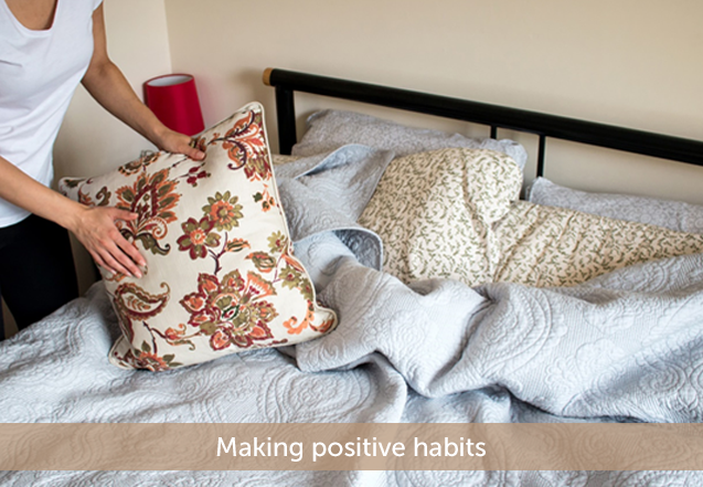 No more excuses to make your bed