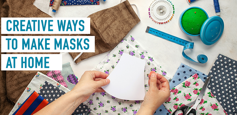 Make & decorate masks, a must-have commodity