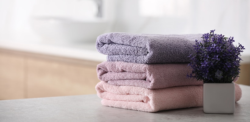 5 ways to keep your towels fluffy & fresh smelling