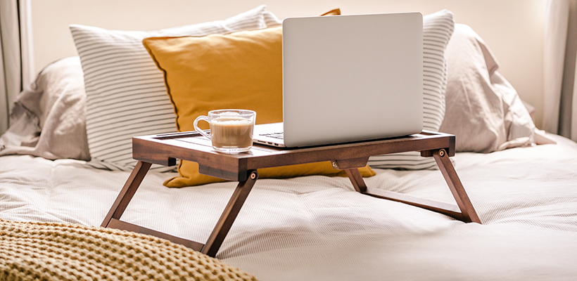Working from Bedroom: How To Tidy In Under 7 Minutes