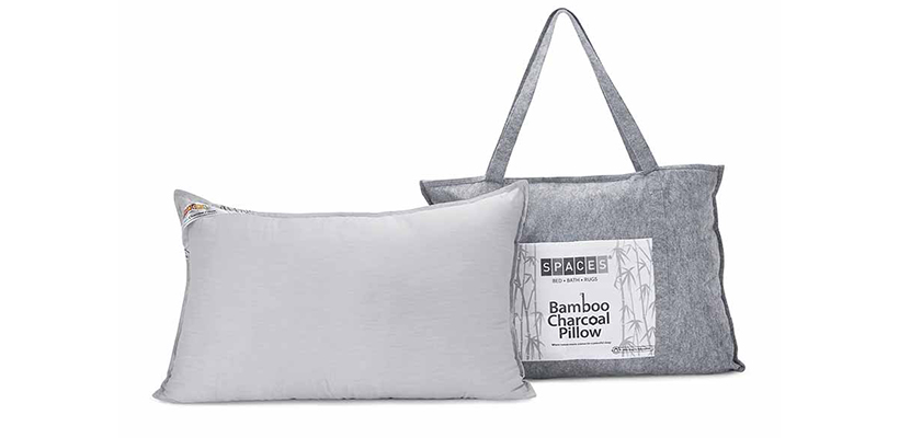 Bamboo Charcoal Pillow – White @ ₹ 999